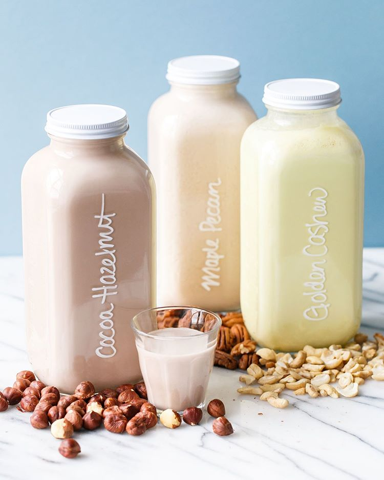 Did you know you can make your own homemade nut milk using just about any nut?