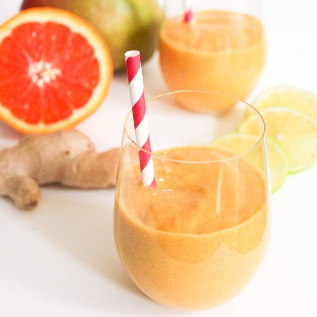 Tropical Ginger Banana Smoothie