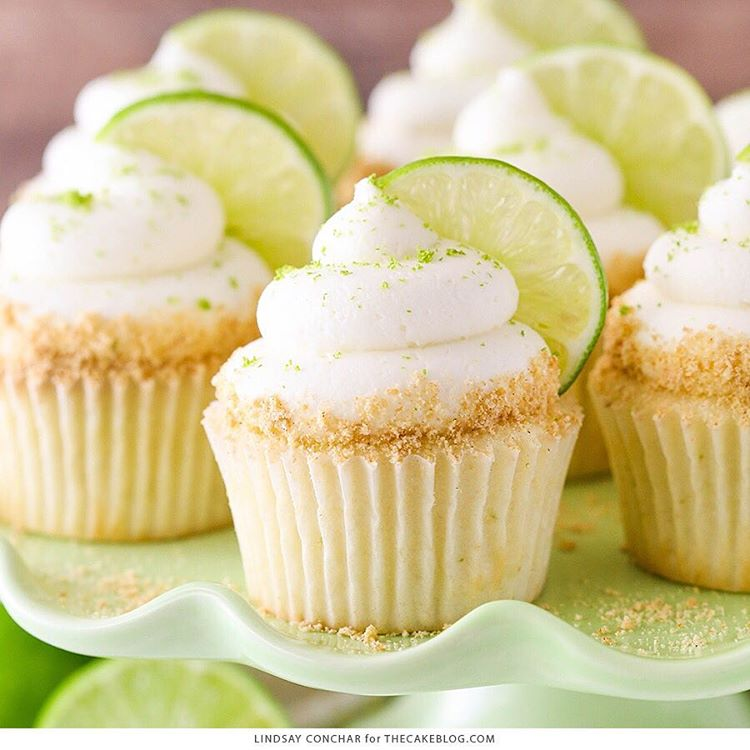 Today's Key Lime Cupcakes are light, fluffy cupcakes full of key lime flavor!