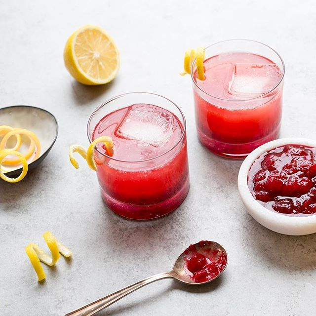 Thinking about recreating our Cranberry Sauce Whisky Cocktail with the huge jar of lingonberry…
