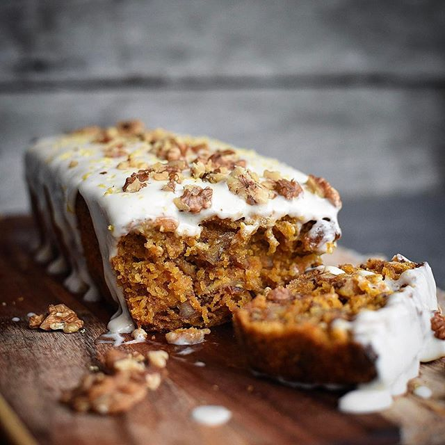Vegan Carrot Cake With Cream Cheese Icing Recipe The Feedfeed