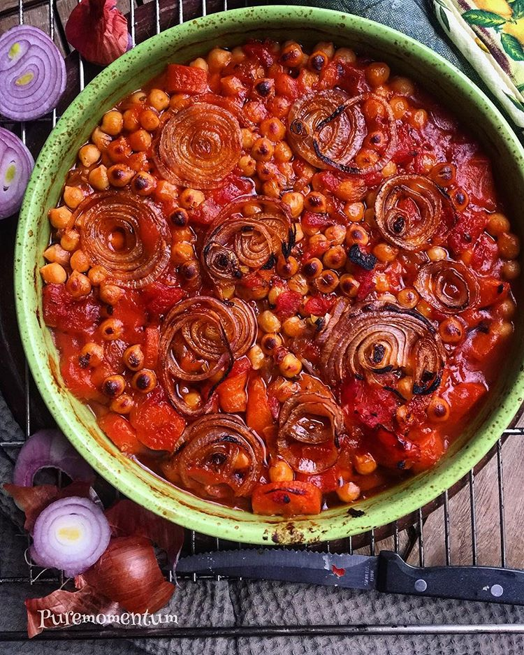 Greek Chickpea Stew