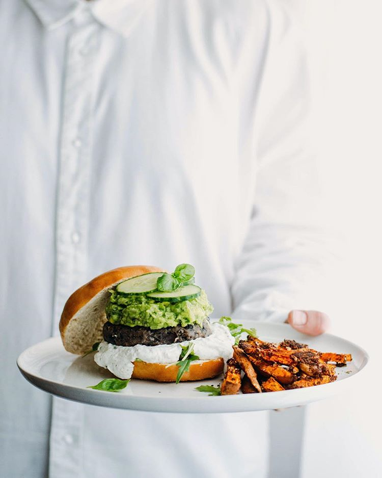Black Bean And Couscous Burger