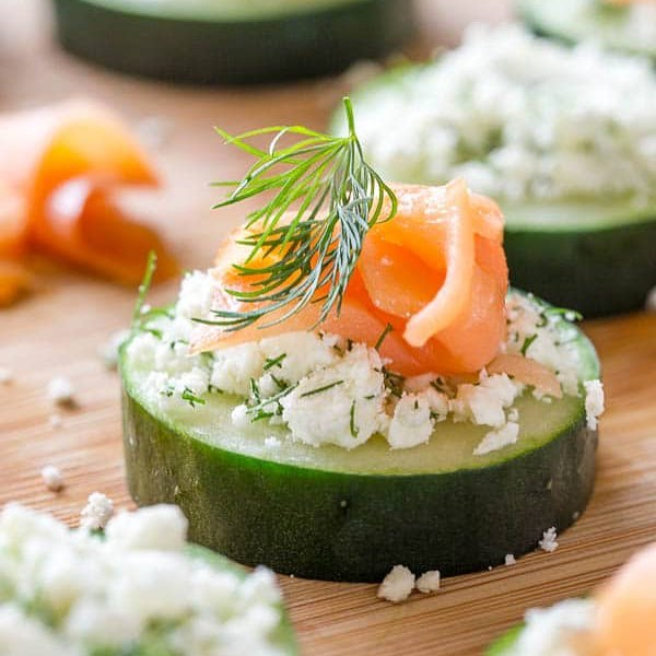 Super simple, yet elegant smoked salmon appetizer for any occasion! The ingredient list isn't big…