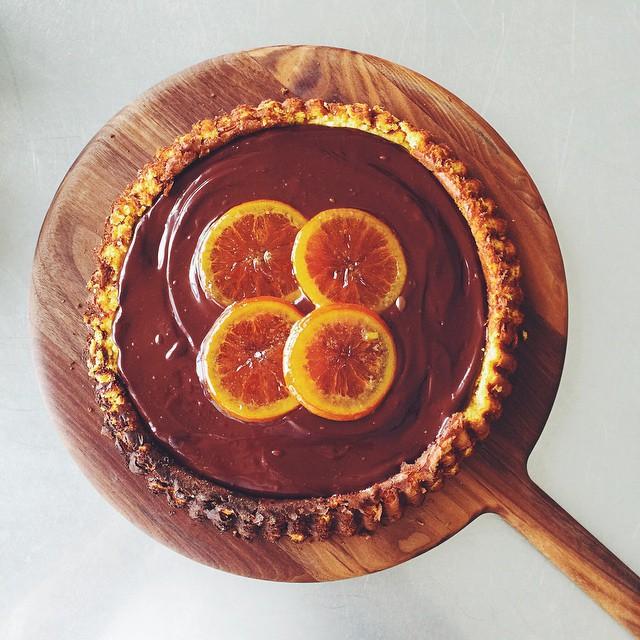 Chocolate And Citrus Orange Cake