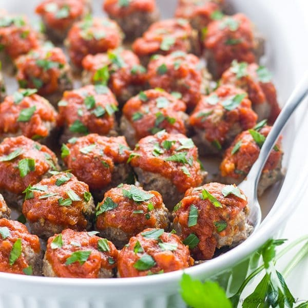 Italian Beef Meatballs