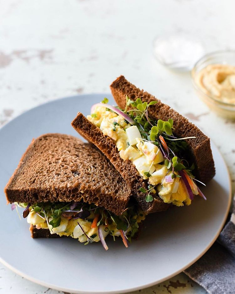 Hummus Egg Salad With Tahini