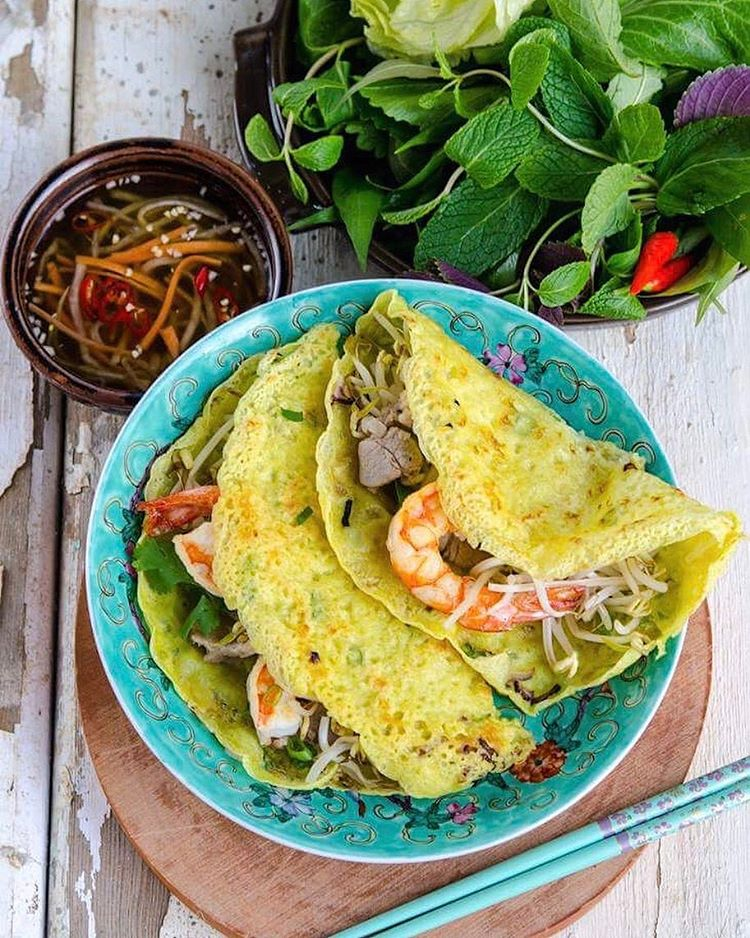 Bánh xèo is what we crave for the most at the moment. The lacy thin and crackly crisp pancake, with…