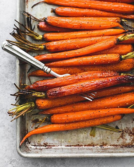Brown Sugar And Honey Roasted Carrots