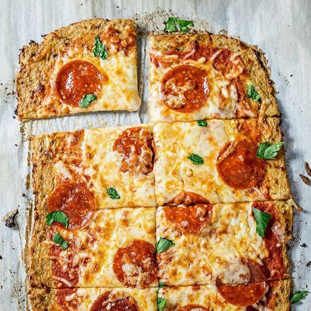 Cauliflower Crust Pepperoni Pizza