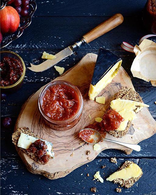 Homemade Sweet Chili And Tomato Jam