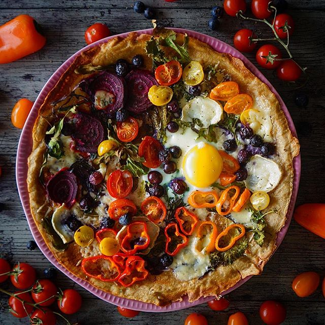 Quinoa Breakfast Pizza