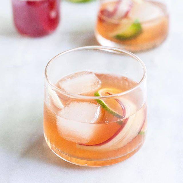 Rhubarb Whiskey Cocktail