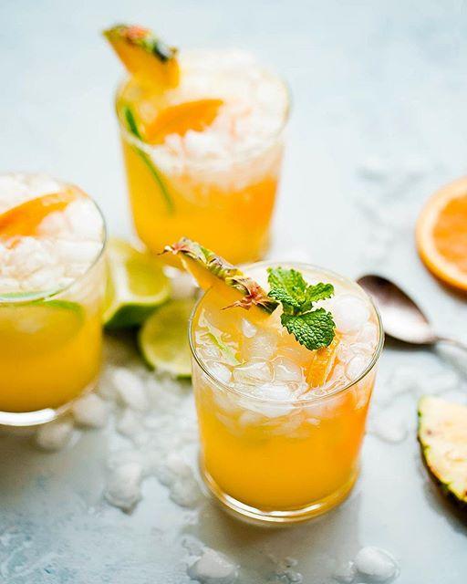 Ginger Beer Pineapple Punch