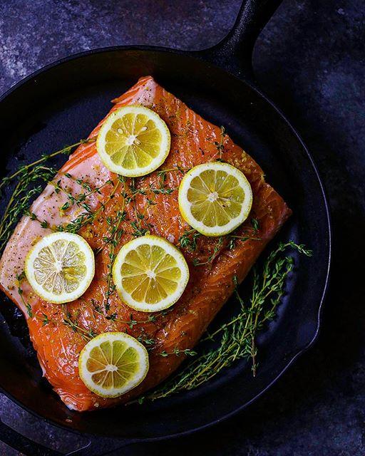 Lemon Thyme Baked Salmon