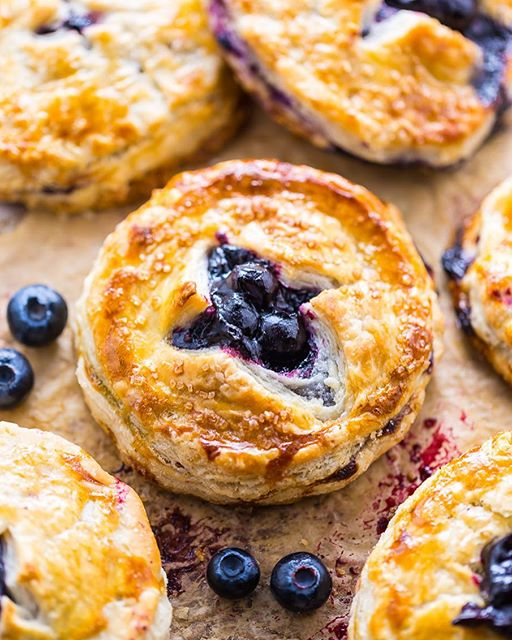 Fresh Blueberry Hand Pies and a cup of coffee... does life get any better than that?! But seriously…
