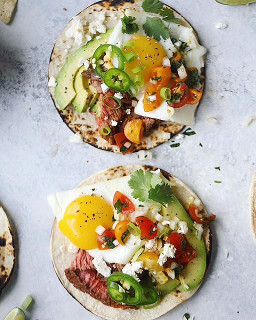 never complaining about a taco-for-breakfast situation.