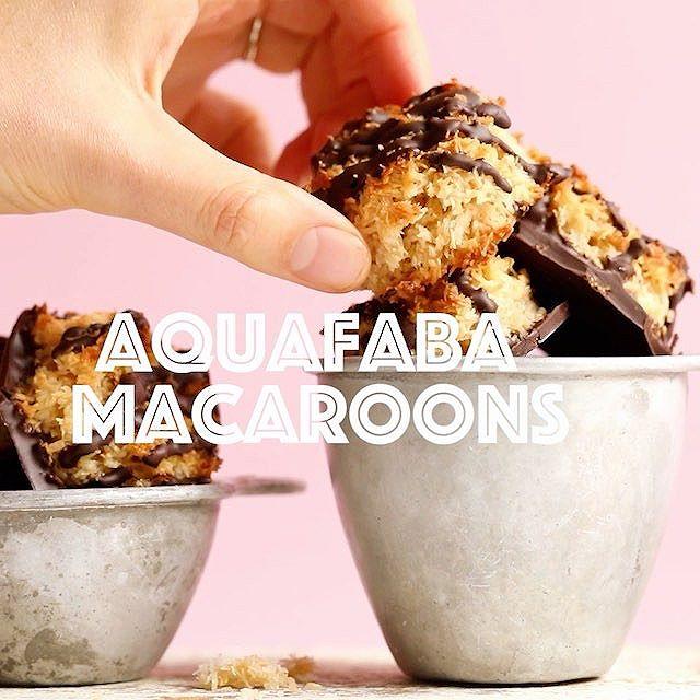Aquafaba Macaroons