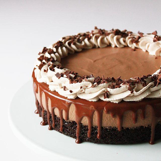 Chocolate Cognac Cake