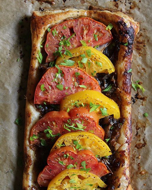 Tomato & Bacon Tart