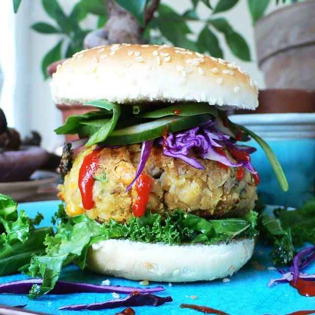 Veggie Falafel Burger
