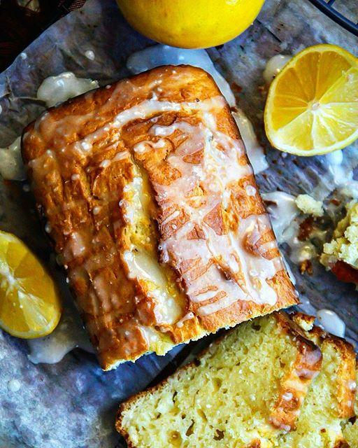 tbt I'm craving like crazy this delicious Meyer lemon pound cake... I should totally make some…
