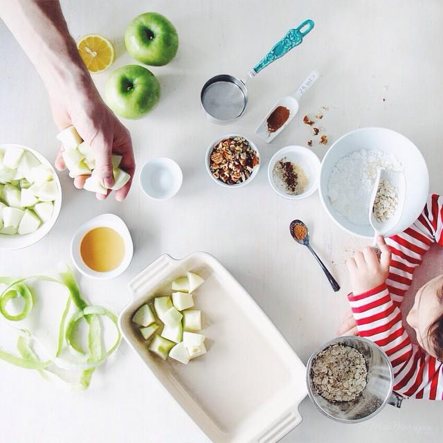 Iqs Vegan Apple Crumble Prep