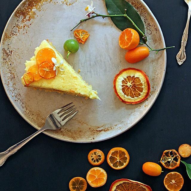 Kumquat-cinnamon Semolina Cake