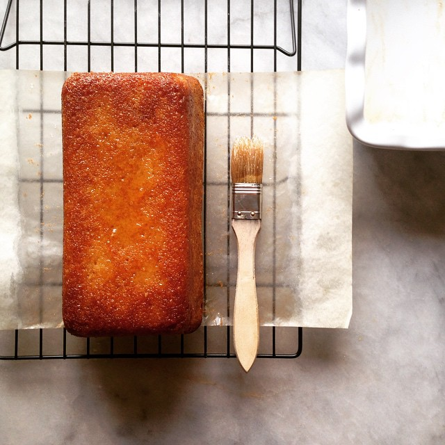 Glazed Grapefruit Pound Cake