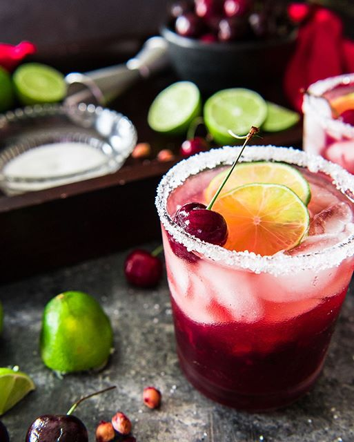We should celebrate with Fresh Cherry Margaritas delicious desserts, and a little light reflection…