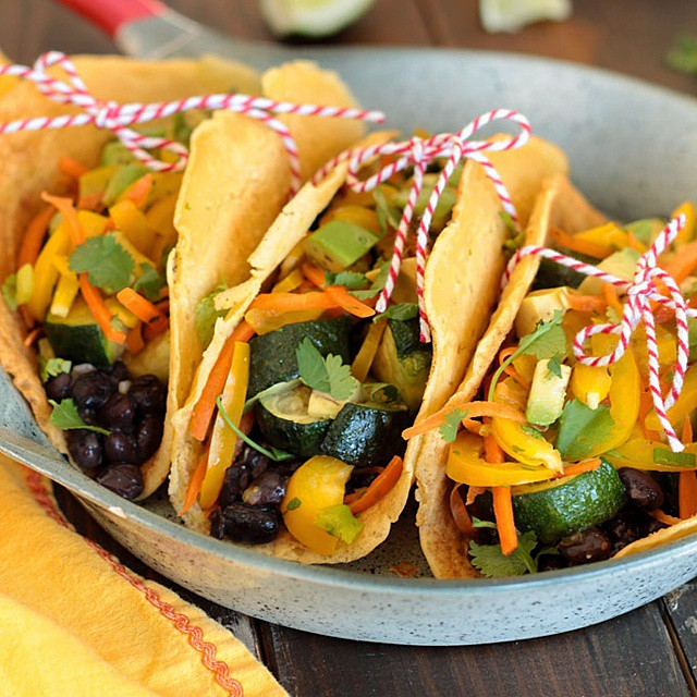 Vegetable Tacos With Chickpea Tortillas