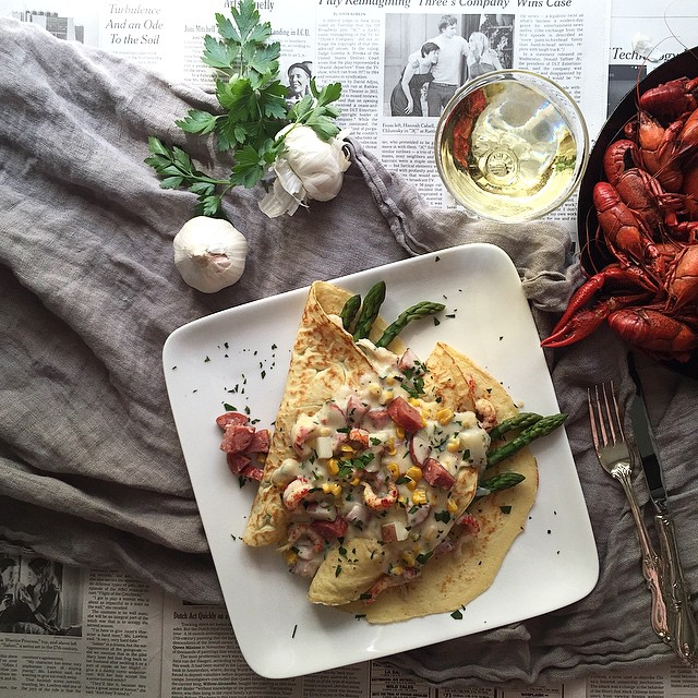 Crawfish Crepe