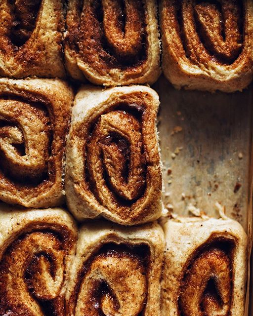 Soft, fluffy, cinnamon-y, Home made Cinnamon Rolls. I mean there is nothing better than the smell of…