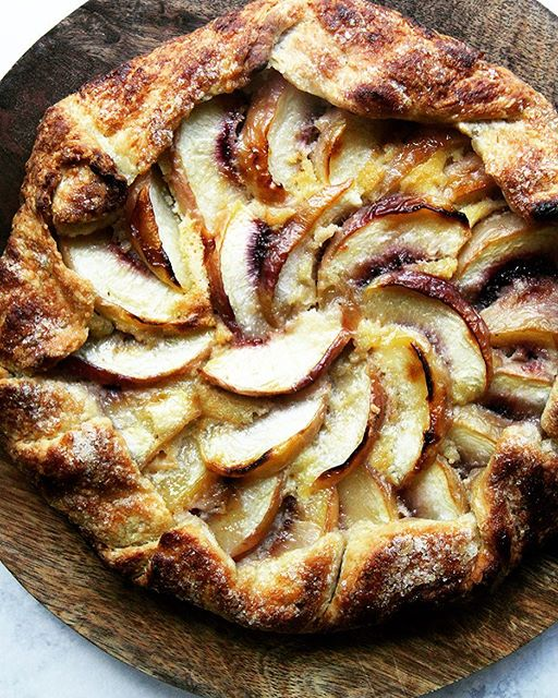 summerofgalettes. this one is peach-frangipane, a longtime favorite @davidlebovitz recipe, details…