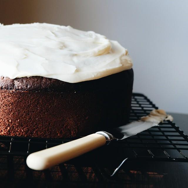 Dark Chocolate Spelt Cake