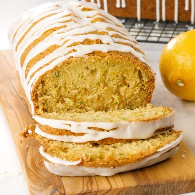 This Lemon Zucchini Bread with a sweet lemon glaze is heavenly! You have to make this one!