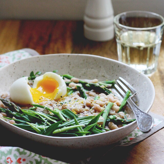 Asparagus And Bean 'risotto'