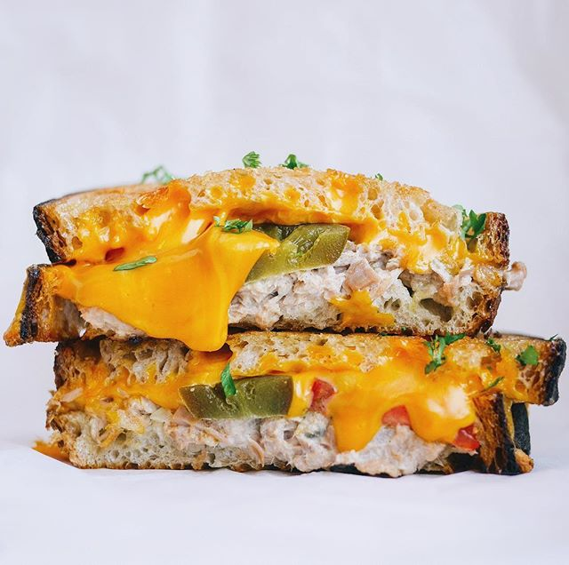 Spicy Tuna Melt