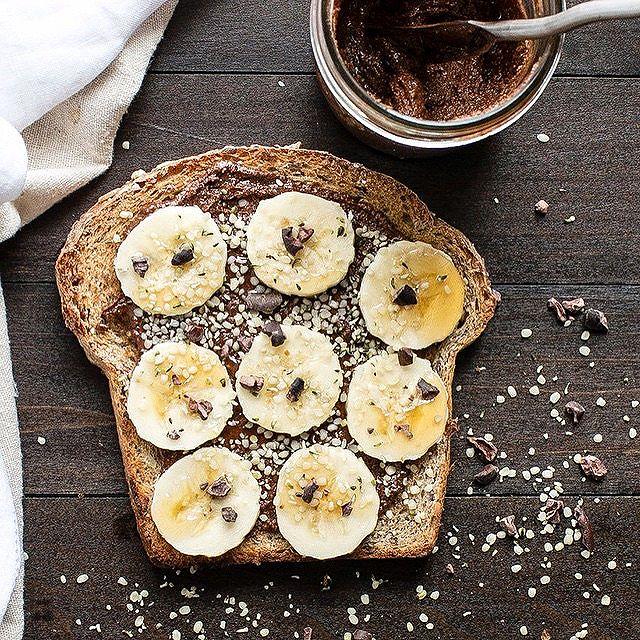 Chocolate Almond Butter Toast