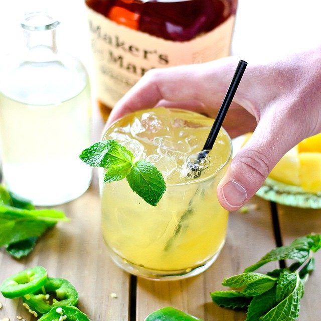 Jalapeno, Pineapple And Mint Julep