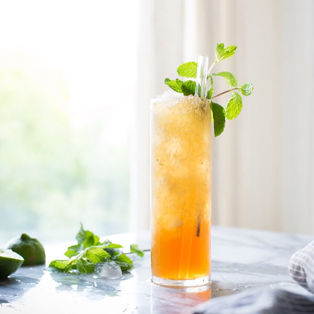Mint Juleps With Muscovado Brown Sugar