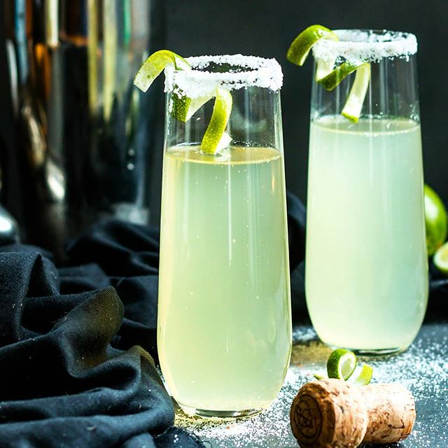 Happy Labor Day!! Have you ever had a Mexican 75?  It is a tequila + lime + champagne cocktail that…