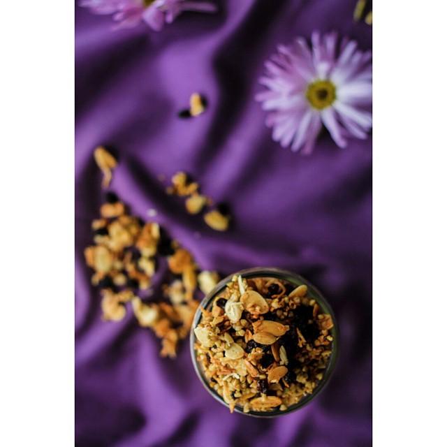 Cardamom Buckwheat Granola