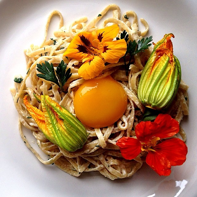 Maple Carbonara With Parmesan