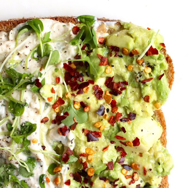 Here's a dressed up, jazzed up, spiced up 2 minute Avocado Toast. I made it using @rootsfoodavl's…