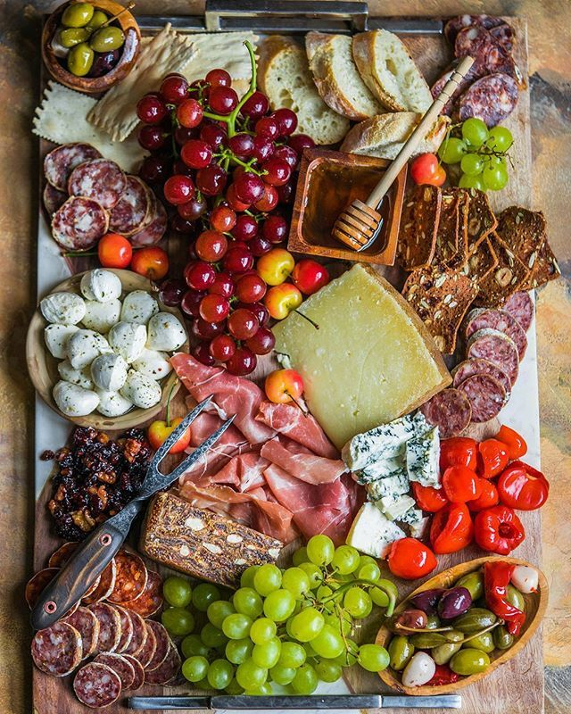 Cheese And Charcuterie Platter By Alenafoodphoto Quick Easy Recipe The Feedfeed