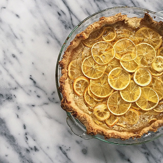 Ohio Shaker Meyer Lemon Pie