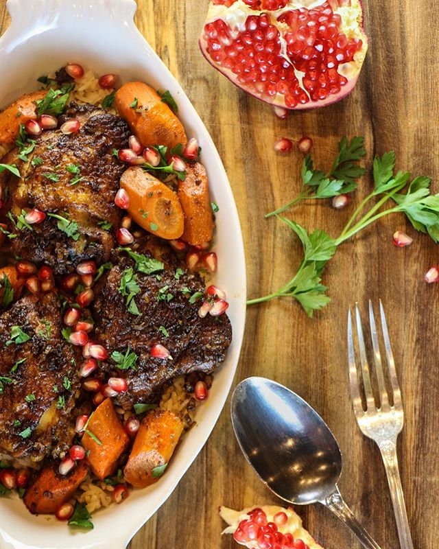 One of my favorite fall recipes is this Slow Cooker Chicken with Walnuts and Pomegranate. Inspired…