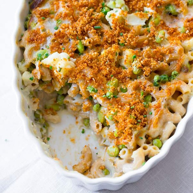Cauliflower, Pea & Edamame Wholegrain Mac & Cheese