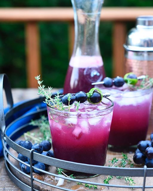 We're starting happy hour early (perks of working from home) with Concord Grape Pisco Cocktails…